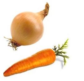 wortel en ui