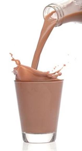 Chocolademelk vlekken verwijderen