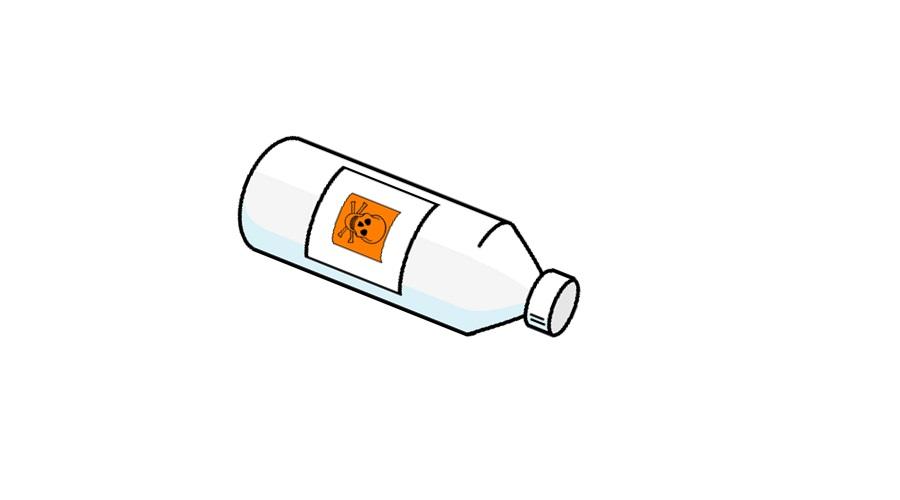 Beroemd afvoer ontstoppen met chemische ontstopper - PW02